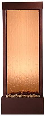 Bluworld Petite 4' Dark Copper Gardenfall with Bronze Mirror
