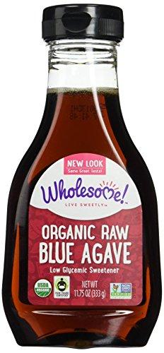 Wholesomes Sweeteners - Organic Blue Agave Raw, 11.75 oz liquid