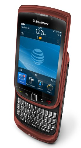 BlackBerry Torch 9800 Phone, Red (AT&T)