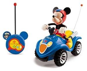 Mickey Club House - 180840 - Véhicule Miniature et Circuit Radio Commande - Quad RC Mickey