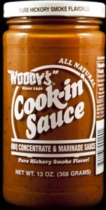 Woody's Foods Ltd Sauce, Chkn, Original, 13-Ounce (Pack of 6)