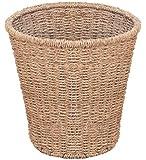 Woodluv Round Seagrass Waste Paper Bin (E01-120)