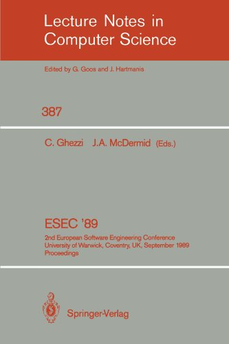 ESEC '89: 2nd European Software Engineering Conference, University of Warwick, Coventry, UK, September 11-15, 1989. Proc