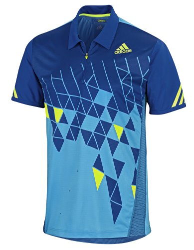 Adidas AdiZero Mens ClimaCool Tennis Formotion Polo Shirt