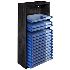 hama blu ray st nder f r 20 blu rays elektronik. Black Bedroom Furniture Sets. Home Design Ideas