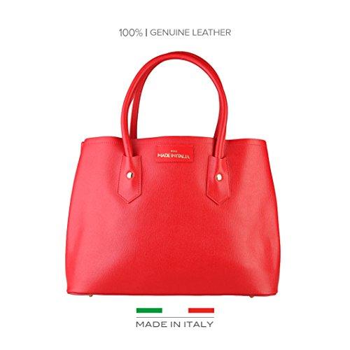 Made In Italia Bags, Borsa a spalla donna rosso rosso