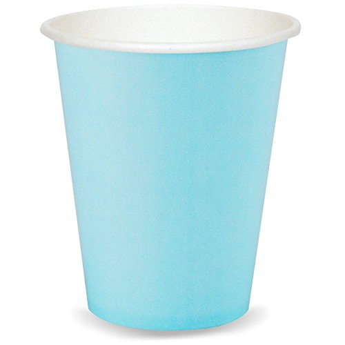 Light Blue Paper Cups - 1
