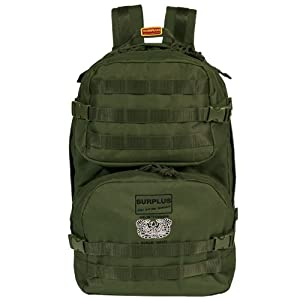 Surplus Tactical Mole Backpack MOLLE System Rucksack Travel Hiking Camping Olive from Surplus