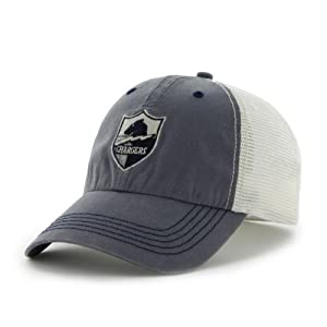 San Diego Chargers 47 Brand Navy Caprock Canyon Legacy Mesh Hat Cap by