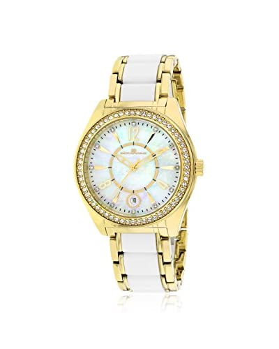 Oceanaut Women's OC5410 Pearl Two-Tone Gold/White Stainless Steel Watch