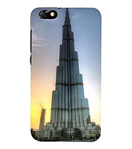 FAMOUS ARCHITECTURE 3D Hard Polycarbonate Designer Back Case Cover for Huawei Honor 4X :: Huawei Glory Play 4X