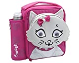 おもちゃ Smash Enterprises Mini 3D Lunchbag and Bottle 350ml Pink Cat [並行輸入品]