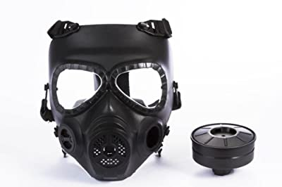 Gas Mask Model: Skull Style Gas Mask for Outdoor War Games - Black from Homejoy :: Gas Mask Bag :: Army Gas Masks :: Best Gas Mask