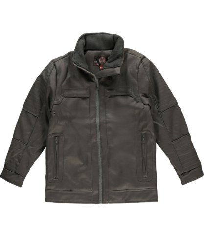 "Sportier Big Boys' ""Night Horizon"" Jacket - Charcoal Gray, 14 - 16"