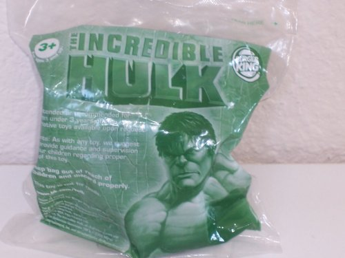 The Incredible Hulk Burger King Toy: Hulk With Smashing Sound (2008)