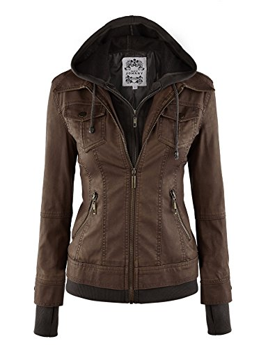 LL-Womens-Hooded-Faux-leather-Jacket
