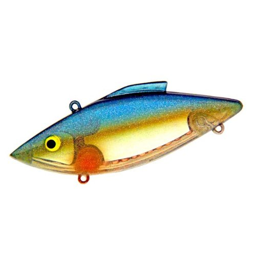Rat l trap lures 1 1 2 ounce super trap cigar minnow for Rattle trap fishing lure