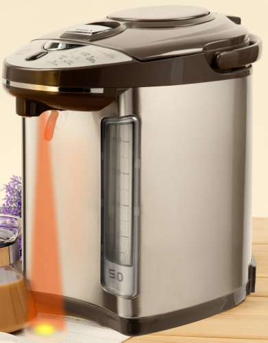 Review Secura 4.6-Quart Electric Water Boiler and Warmer AirPot SWB-53