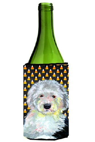 Old English Sheepdog Candy Corn Halloween Portrait Michelob Ultra Koozies for slim cans LH9046MUK lole капри lsw1349 lively capris xl blue corn