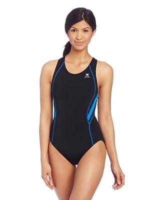 TYR Sport Women's Alliance Durafast Splice Maxback Swimsuit