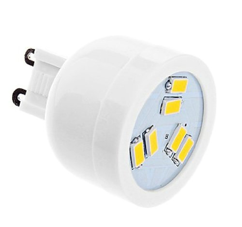 Daiwl G9 2W 6Xsmd5630 180-220Lm Warm White Light Led Spot Bulb 110-120V