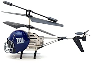 NFL Remote Control Helmet Helicopter by Sports LogoLights