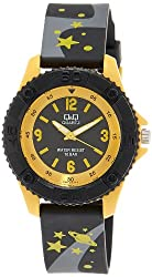 Q&Q Pixie Analog Black Dial Children's Watch - VQ96J017Y
