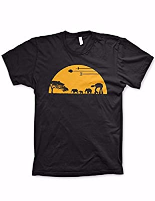 AT-AT shirt funny movie shirts funny tshirts graphic space shirt