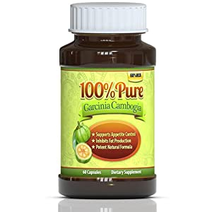 (★) #1 Premium Garcinia Cambogia Extract, Only Clinincally Proven Weight Loss, Diet Pills, 60% HCA, 1000MG Servings