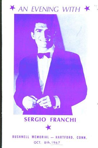 Sergio Franchi David Frye Bushnell Hartford Ct 1967 Prg