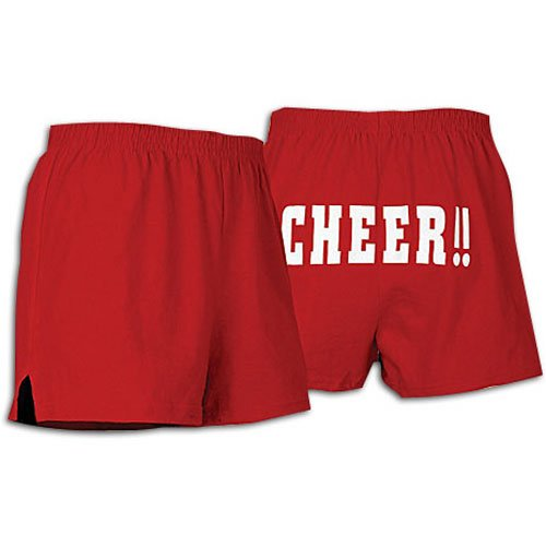 soffe women s cheer butt short cheer up a storm and stand proud with a ...