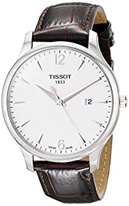Tissot Men's T063.610.16.037.00 Silver Dial Tradition Watch