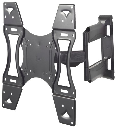 VonHaus TV Wall Mount Bracket NEW ULTRA-SLIM DESIGN for 26 - 55 inch LCD, LED & Plasma TV. 15 degree Tilt Mechanism, Max VESA 400x400