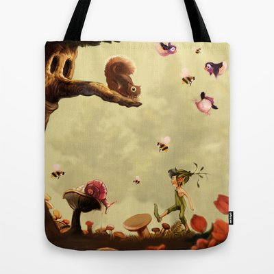 Society6 - Children'S Room Fantasy Tote Bag By Jason C. Smith