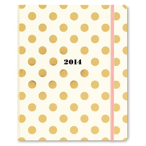 Buy 2014 kate spade new york 17-month agenda - Gold Dot Pattern