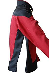 DaiendiCosplay Star Trek Costume TNG The Next Generation Red Shirt Halloween Uniform