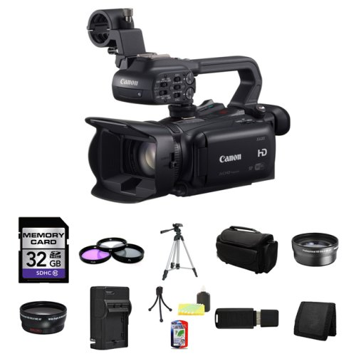 Canon XA20 Professional HD Camcorder 32GB Package 3 image