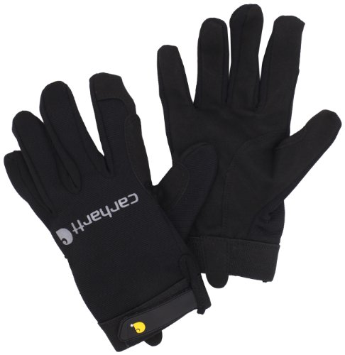carhartt-mens-the-fixer-spandex-work-glove-with-water-repellant-palm-black-medium
