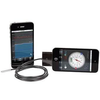 "Aginova iCelsiusPro Digital Thermometer w/4"" Probe (iPad/iPhone/iPod touch)"