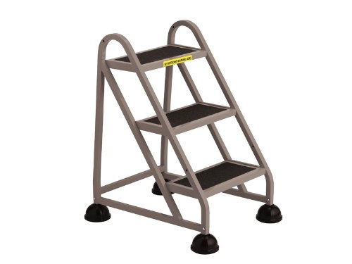 Stop Step 3 Step Ladder with Double Handrail [1033-FS-CRA]