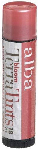 Alba Botanica Bloom Terratints Tinted Lip Balm, Bloom, .15-Ounce Tube (Pack of 3)