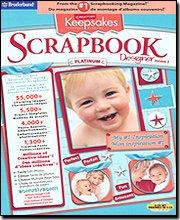 Broderbund Creating Keepsakes Scrapbook Designer Platinum 2.0