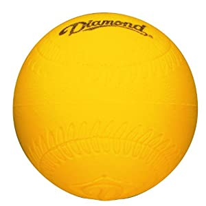 Buy Diamond Foam Baseball Size Practice Balls, Dozen by Diamond Sports