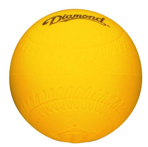 Diamond Foam Softball Size Practice Balls, Dozen