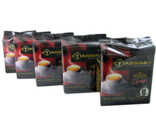 buy tassimo t discs gevalia espresso coffee t disc pods. Black Bedroom Furniture Sets. Home Design Ideas
