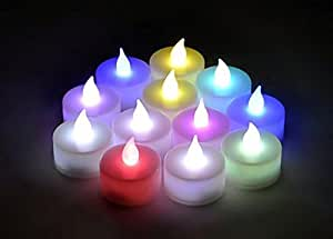 Buy goyal box of 30 pcs multi colour battery operated led for Indoor diwali decoration