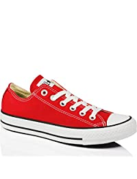 Converse Unisex Chuck Taylor All Star Ox Low Top Sneakers Red M9696