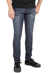 RUDE Dark Vintage Skinny Jeans