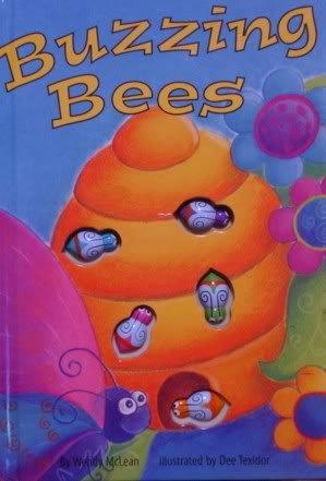 Buzzing Bees (Interactive Button Board Books)