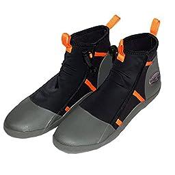 KOKATAT Seeker Paddling Shoes Black/Mango 10